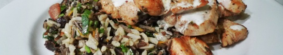 wild rice with chicken